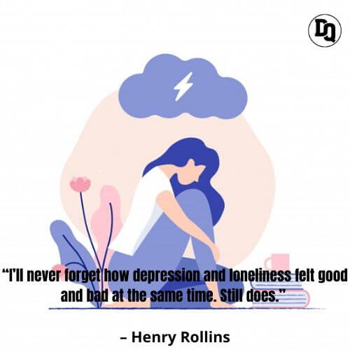 Deep depression quotes and sayings