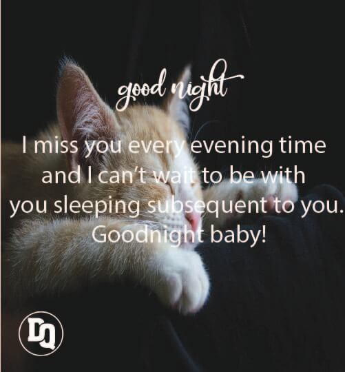 Romantic Good evening messages for her
