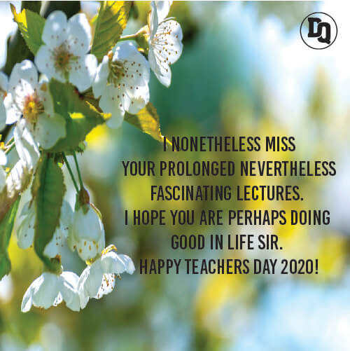 Happy Teachers Day 2020 Messages